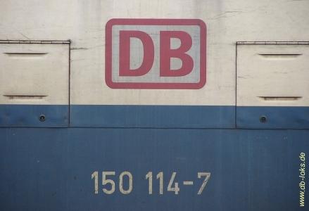 Betriebsnummer der 150 114-7
